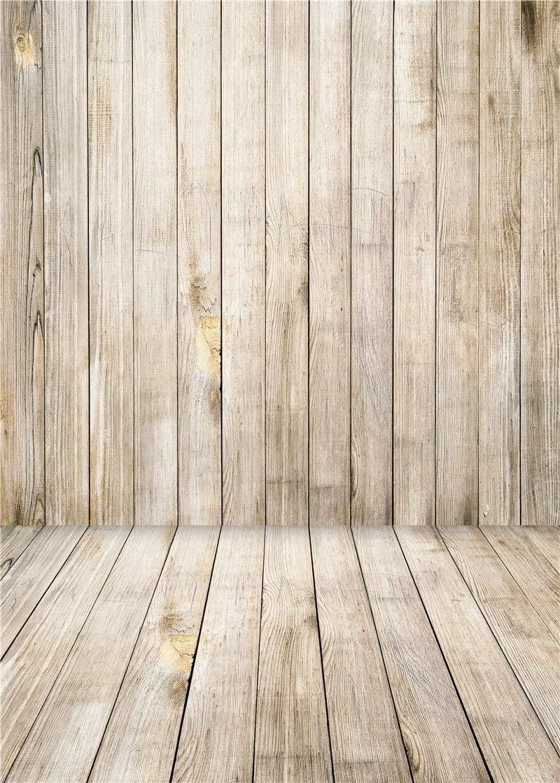 Daniu Wooden Floor Photography Backdrops Children Kid Vinyl Baby Background Photo Studio Props 3x5FT QX002