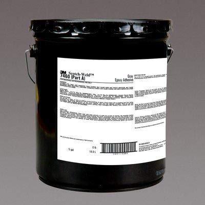 3M (LSB60) Toughened Epoxy Adhesive LSB60 Gray Part A, 55 Gallon