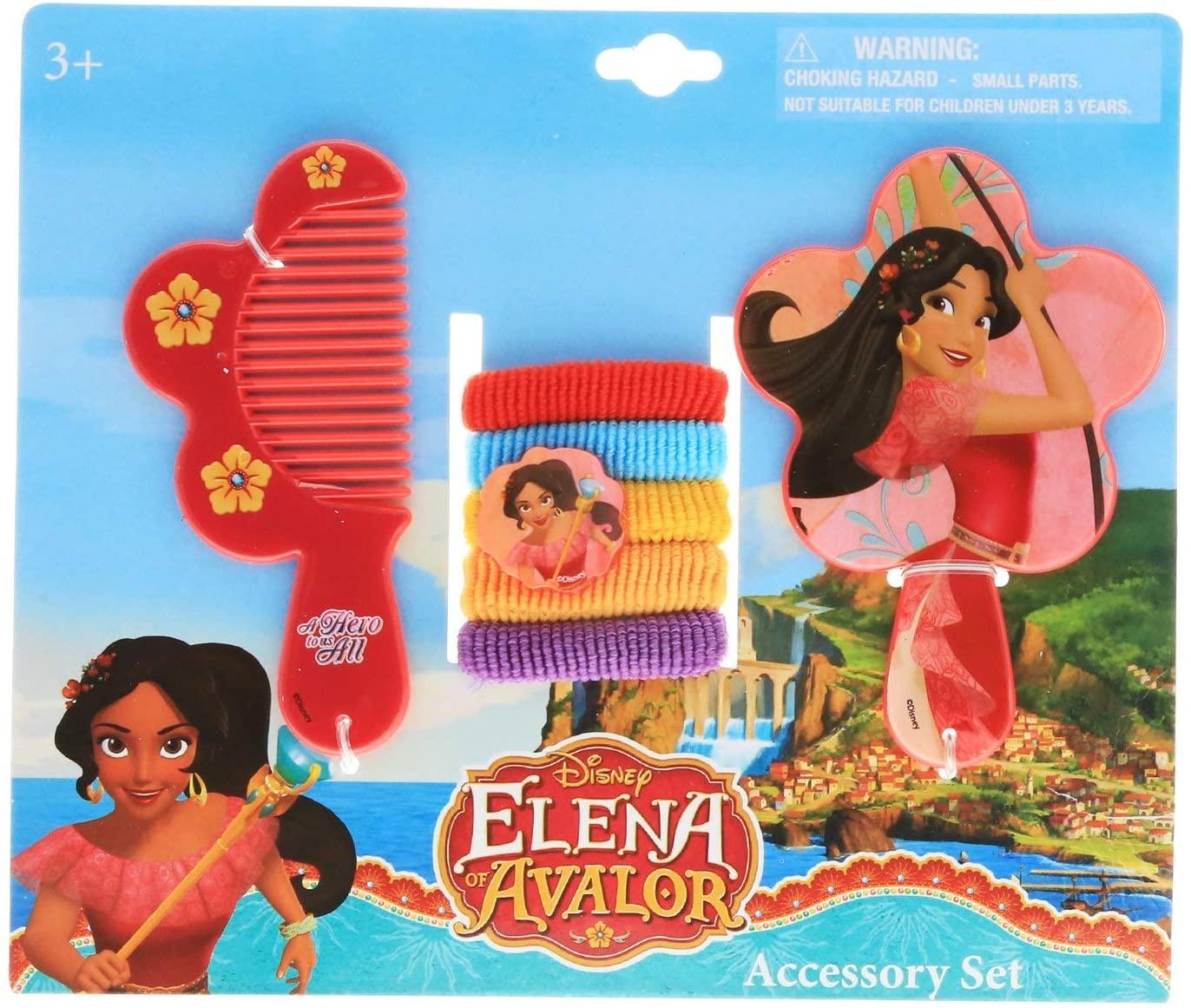 Disney Elena of Avalor 7pc Hair Accessory Set - Elena Vanity Hair Set