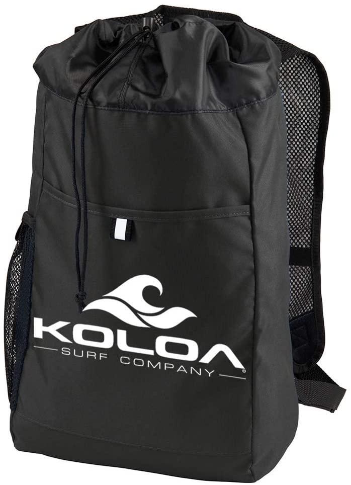 Koloa Surf Classic Wave Hybrid Backpack-OS-Black/white