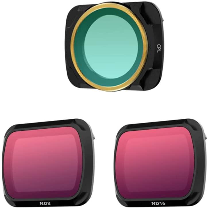Xingsiyue CPL+ND8+ND16 Lens Ultra Slim Optical Glass Filters for DJI Mavic Air 2 Drone