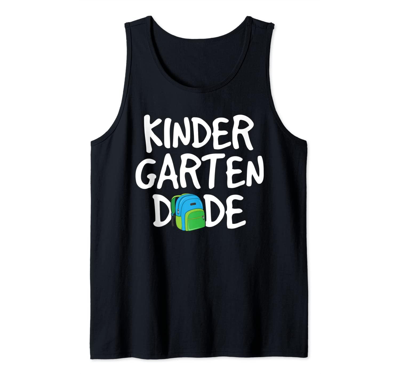 Kindergarten Dude Back to School Boys Kids Kinder First Day Tank Top