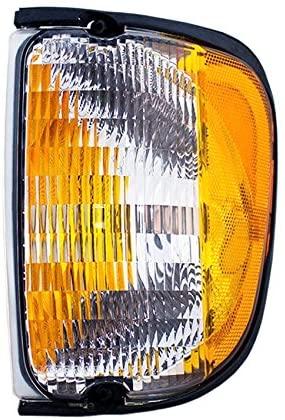 Rareelectrical NEW RIGHT SIDE MARKER LIGHT COMPATIBLE WITH FORD E-150 E-250 ECONOLINE 1992-02 FO2521122 F2UZ 13200 A F2UZ-13200-A F2UZ13200A