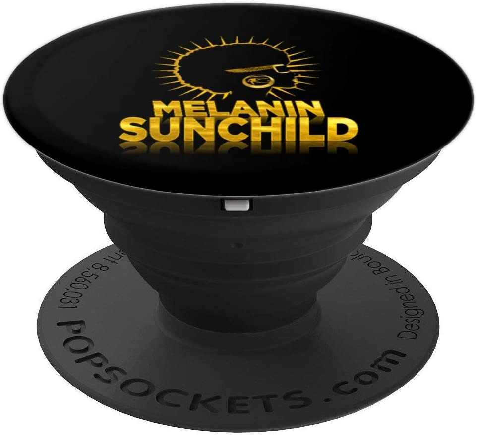 Afrocentric Melanin African American Black Pride Kemetic PopSockets Grip and Stand for Phones and Tablets