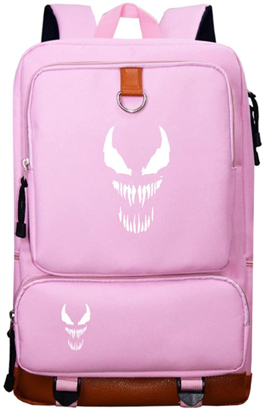 GD-Tshirts Venom Fans Backpack-Durable Superhero Rucksack Laptop Backpack-Daypack for Boys Girls