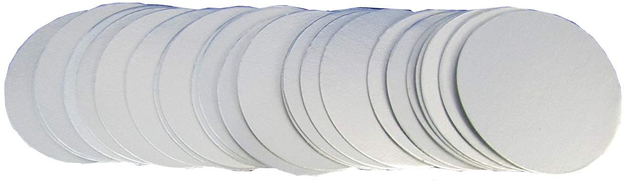 KUNHEWUHUA 10000PCS 80mm Plastic Laminated Aluminum Foil Lid Liners Seal Liners for HDPE Bottle