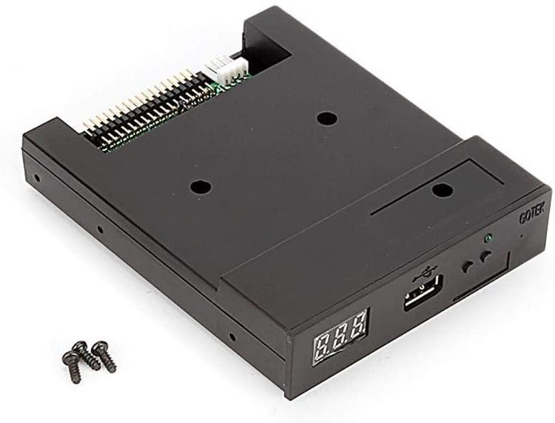 Yosoo Health Gear USB Drive Emulator, Floppy Tape Drives Flash Disk Floppy 1.44MB SFR1M44-U100 for Industrial Control Equipment