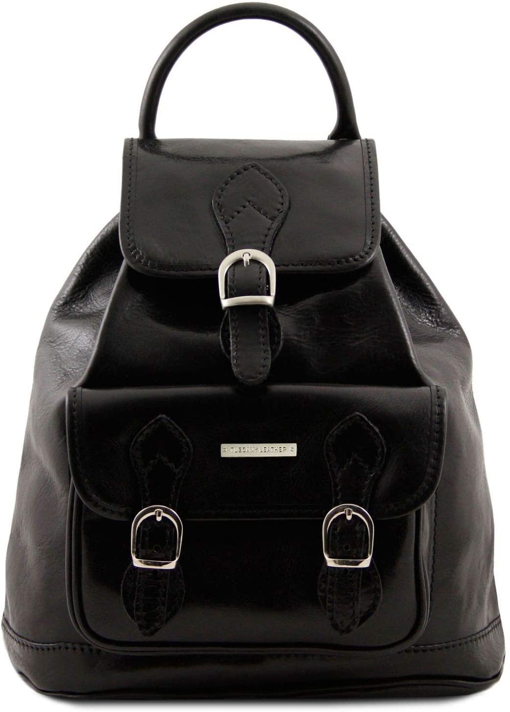 Tuscany Leather - Singapore - Leather - Backpack Black - TL9039/2