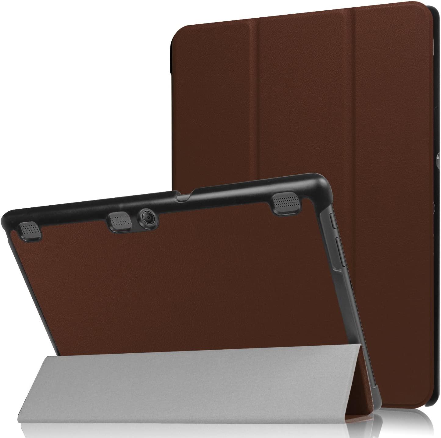 Asng Lenovo Tab 2 A10/TAB-X103F Tab 10 Case, Ultra Slim Lightweight Tri-Fold Cover for Lenovo Tab 2 A10-70/Tab 2 A10-30/Tab 3 Plus/Tab 3 10 Business TB3-X70/TAB-X103F Tab 10 10.1