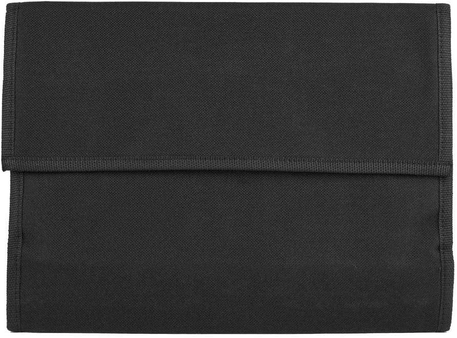 Jadeshay Pen Organizer Bag Black Markers Pen Storage Case for Art Student (36 Marker Pen Bags)
