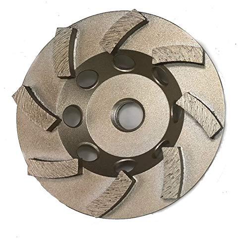 Concrete Grinding Cup Wheel - Non Threaded - 7/8-5/8 (4