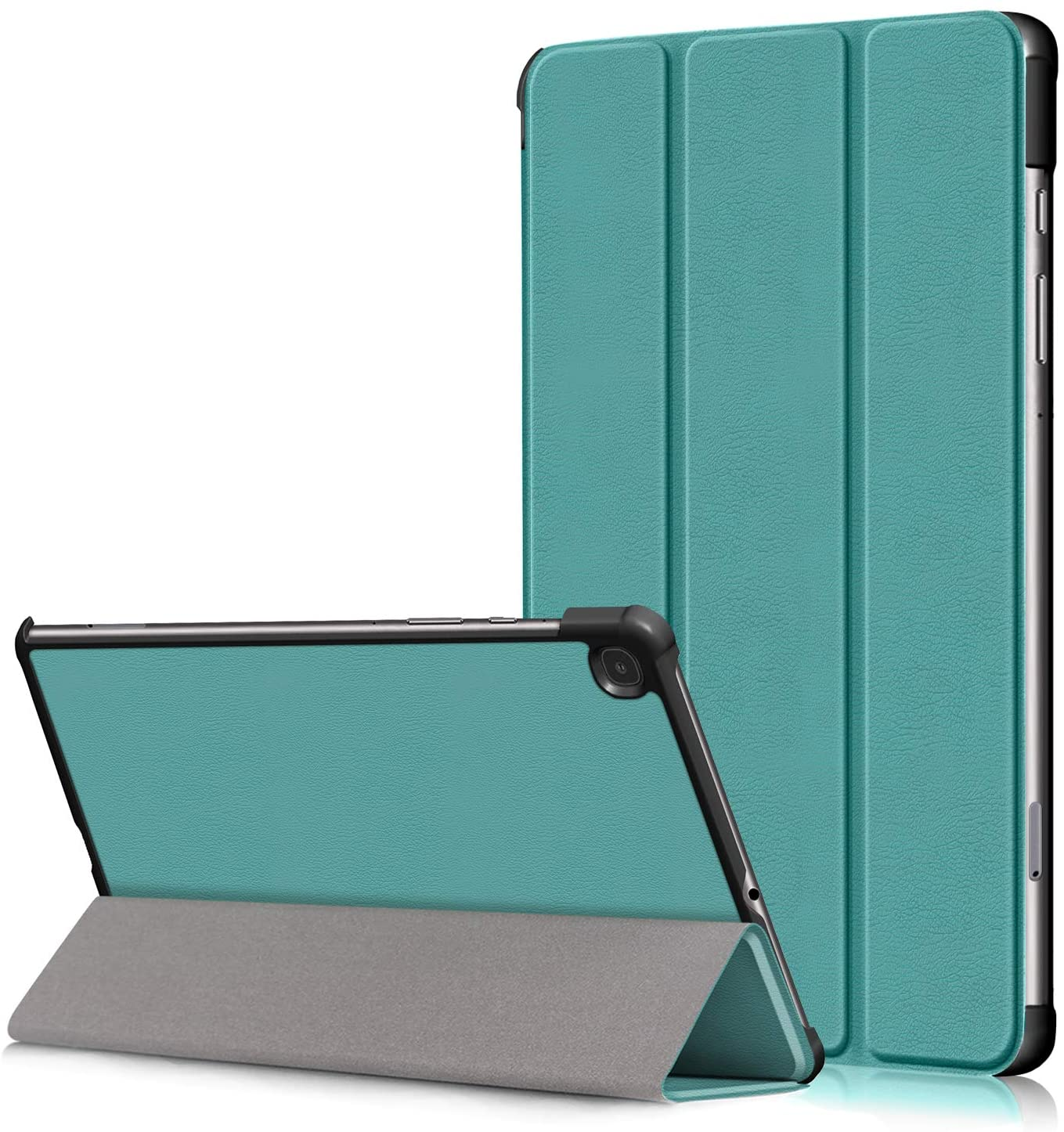 XBE Ultra Slim Case Compatible with Samsung Galaxy Tab S6 Lite 10.4 inch SM-P610 SM-P615 Fold Cover with Function Stand and Auto Sleep/Wake, Malachite Green