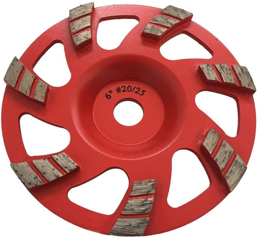 Aggressive Grinding Wheels #20/25 Diamond 6