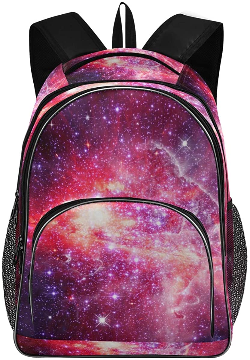 Galaxy Space New Backpack for School Teenagers Girls Boys Travel Bag(623j3)