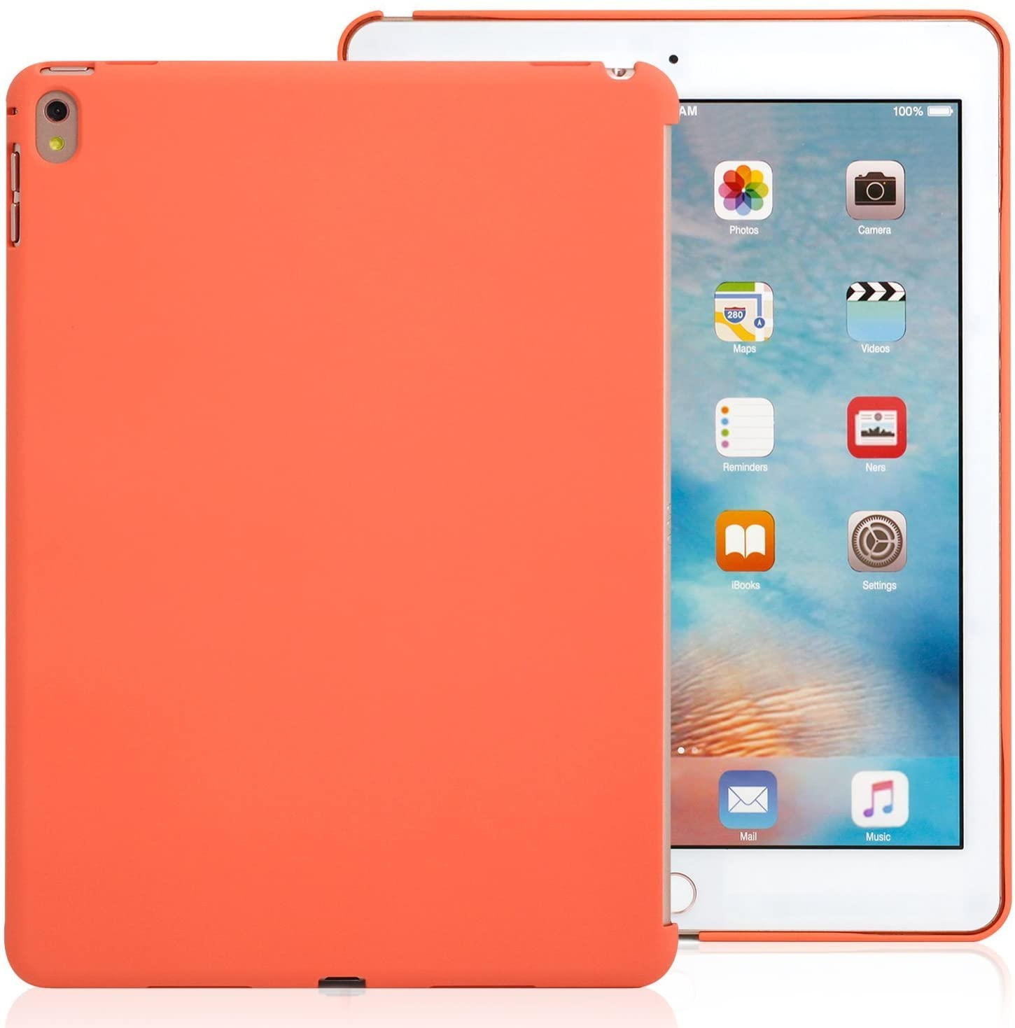iPad Pro 9.7 Inch Apricot  Back Case - Companion Cover - Perfect match for smart keyboard.