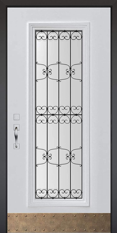 BOTTA Door Cover CC11 – Premium Door Decals for Modern Home Design – Door Wallpaper Peel and Stick – Easy to Apply – Vinyl Removable Door Wrap for Indoor Use – Many Models Available