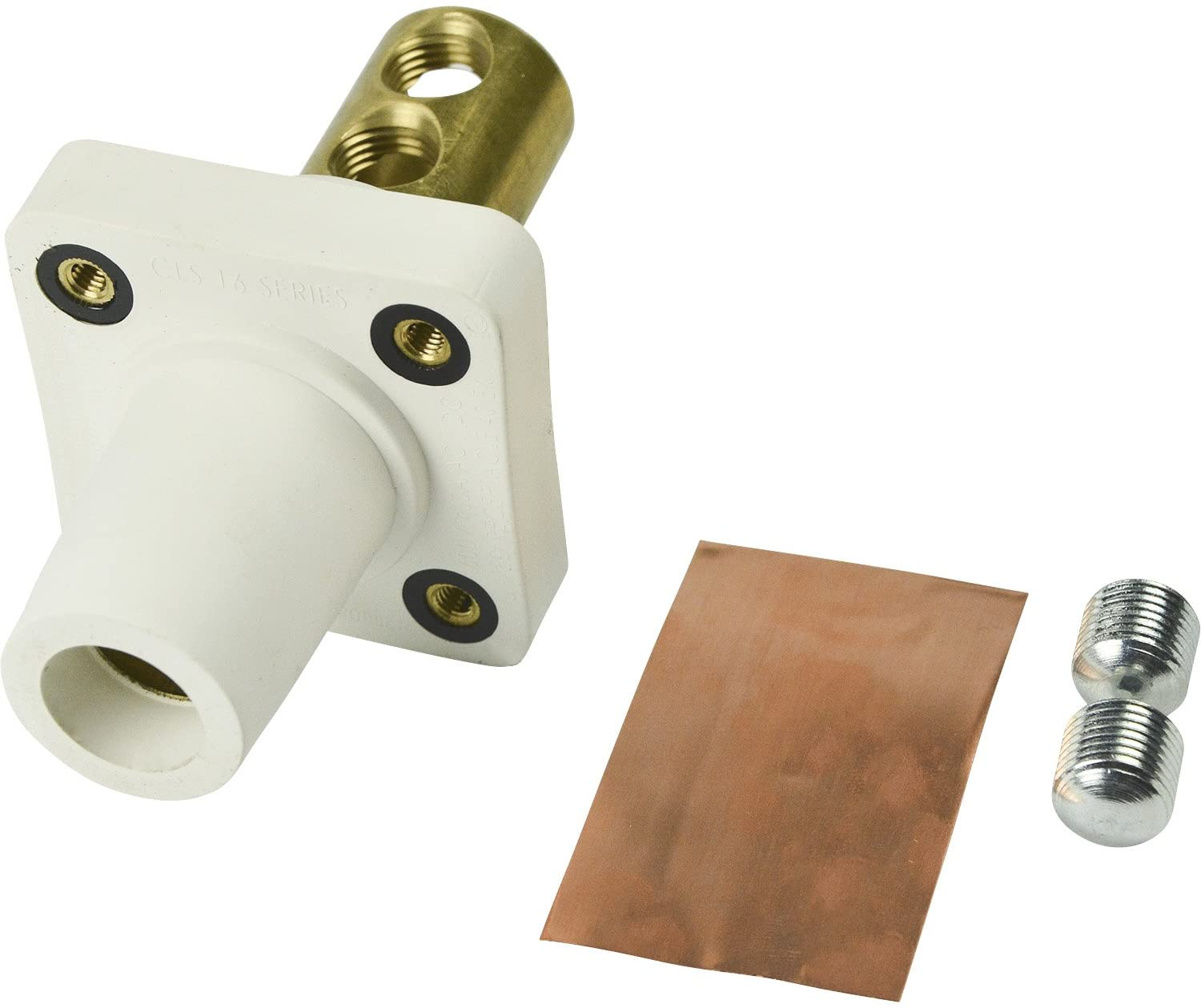ADI Marinco CLS40FRB-B CLS Series Panel Mount (400A) Double Set Screw WHT