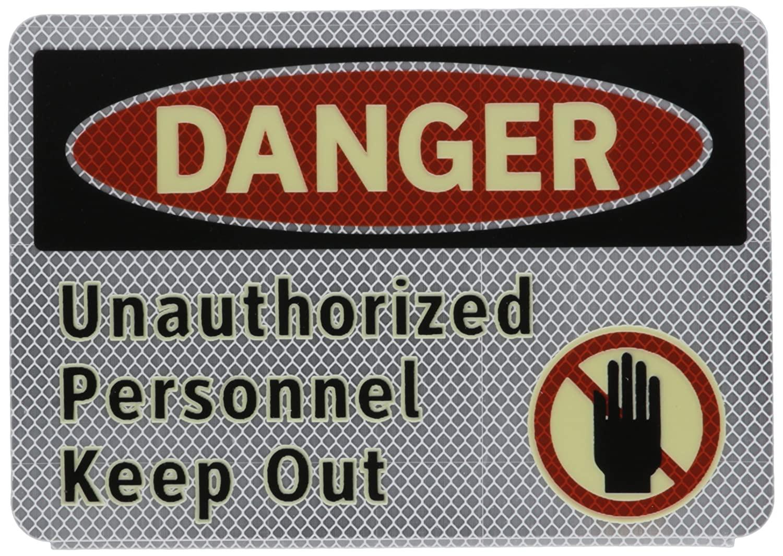 Brady 102456 Danger Sign, English, 7