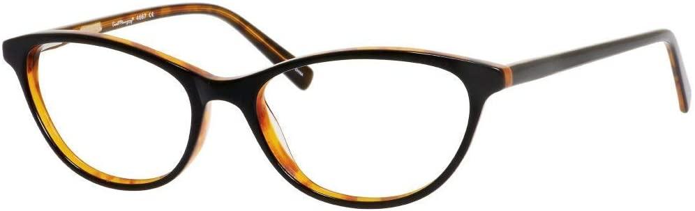 Hemingway H4667 Cat Eye Blue Light Blocking Filter+A/R Lenses Black/Tortoise 54 mm
