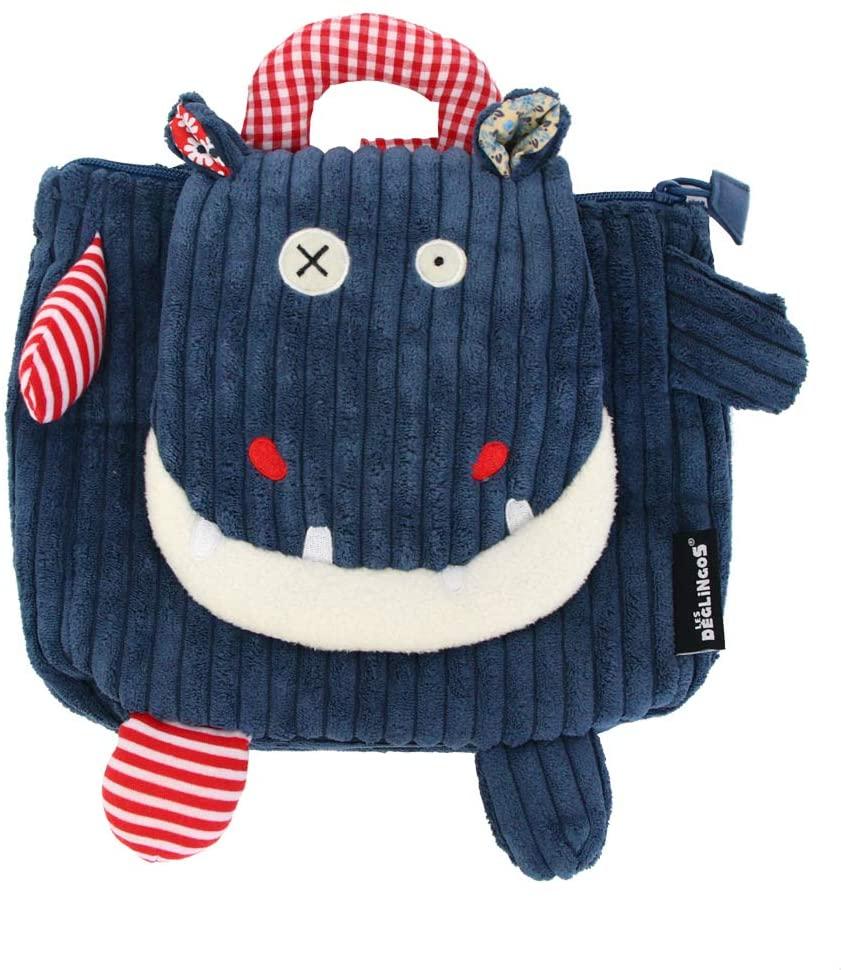 Globe Trotoys Small World Toys Les Deglingos - Backpack Hippo 35017 Bag