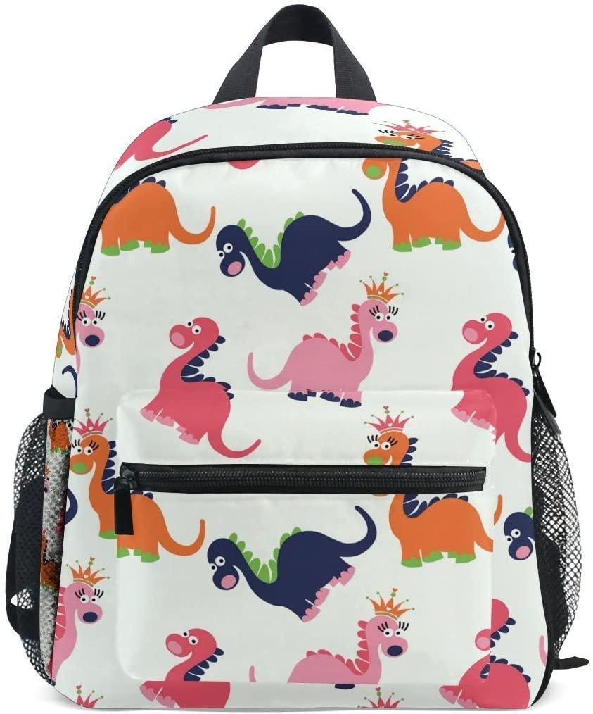 Cute Kids Toddler Backpack Cute Dinosaur Seamless Pattern Children Bag