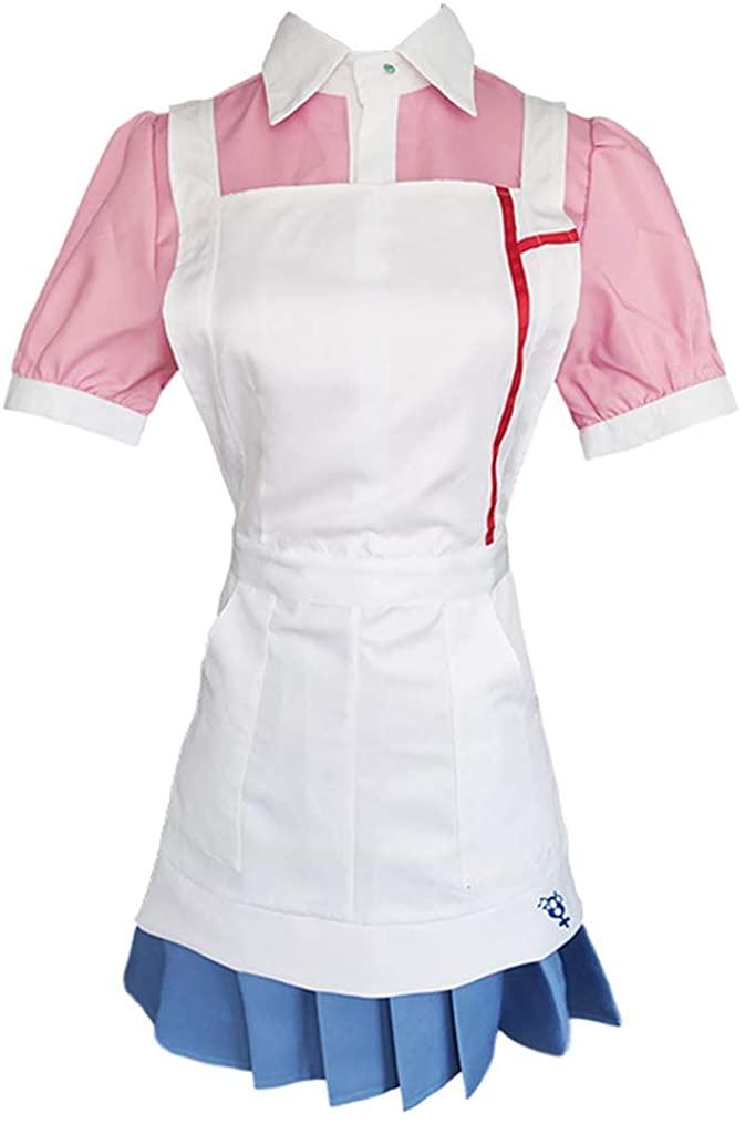 GLEST Chihiro Fujisaki Cosplay Koizumi Mahiru Costume School Uniform Skirt Dress Sailor Suit for Women Girls Halloween