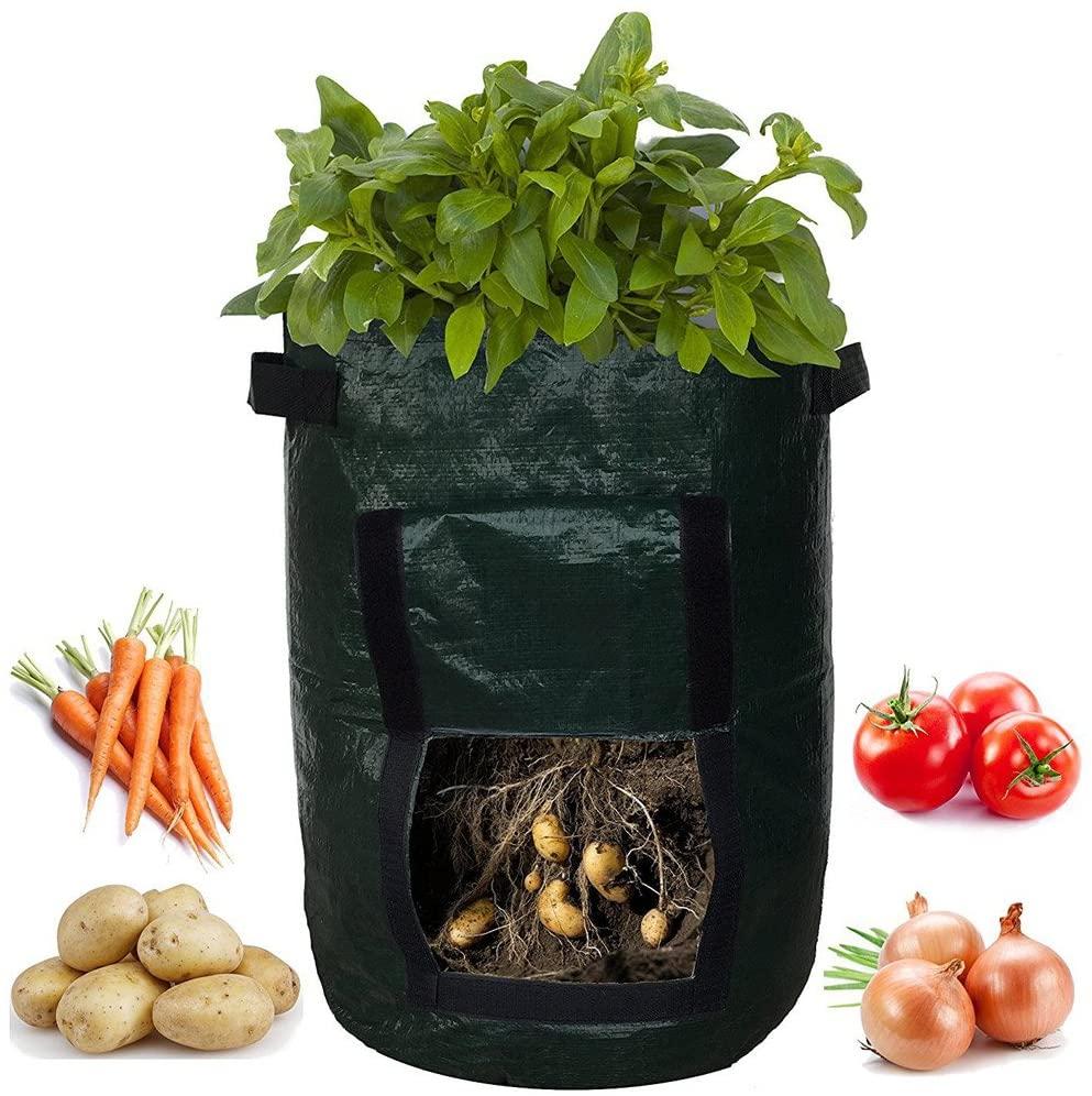 Potato Grow Bag 10 Gallon Planting Pots Garden Containers Planters for Vegetables