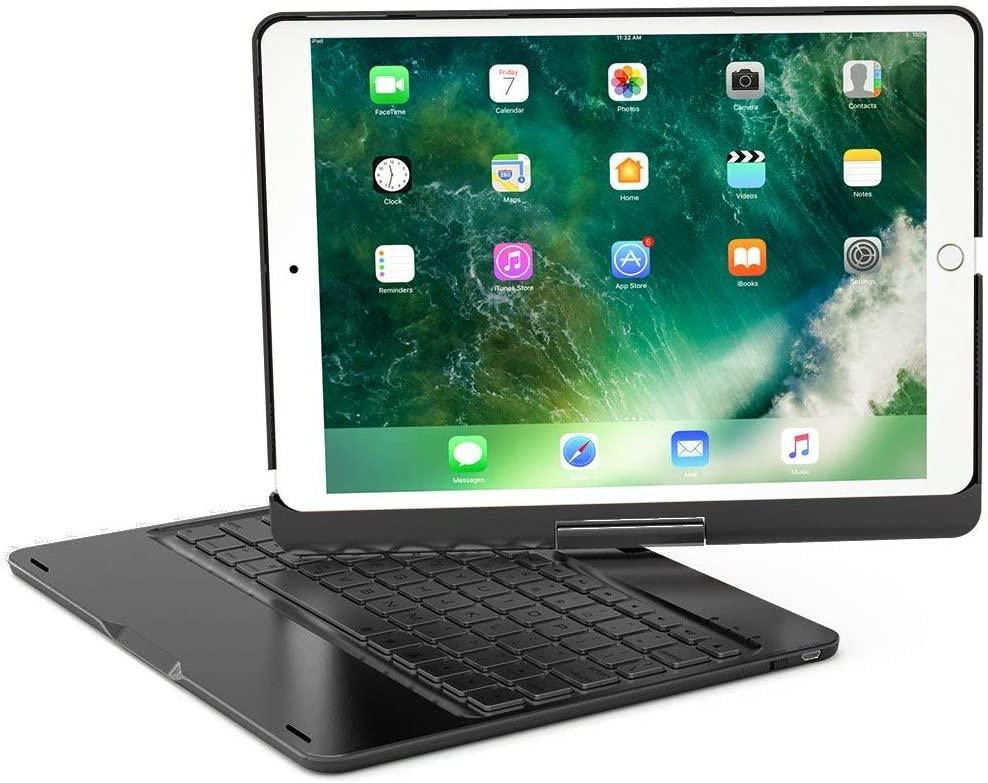 XFUNY iPad Keyboard Case for iPad Pro 10.5