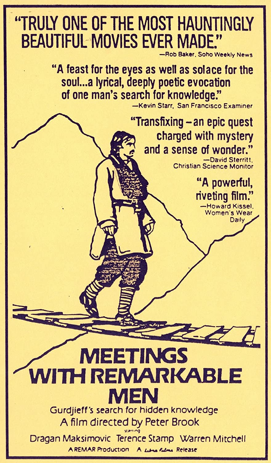 Meetings with Remarkable Men [VHS]