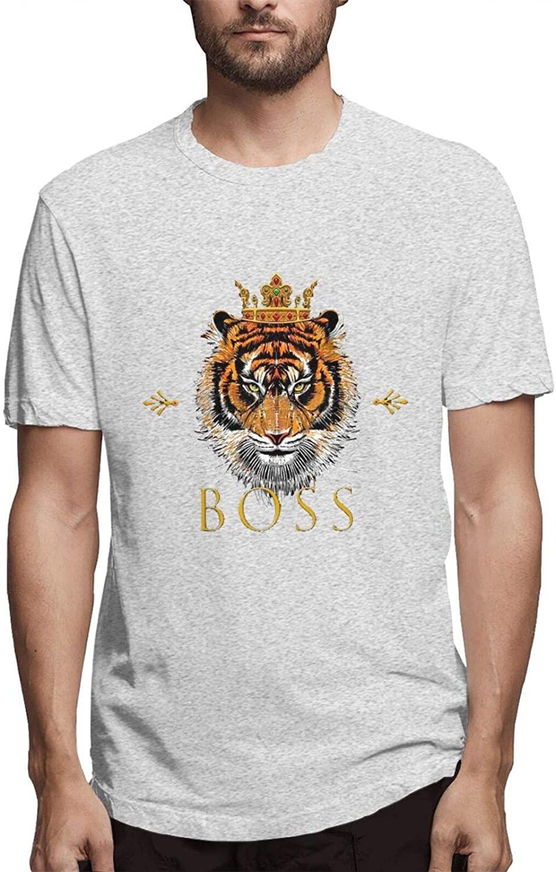 Tiger Tee T-Shirts Mens Shirt Jacket Summer Tops Short Sleeve Cotta Upper Outer Garment Clothing Dress Animals Sports Gifts