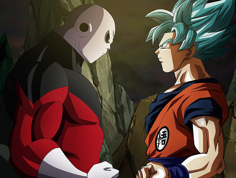 Dragon Ball Super Poster Print,Anime Art Poster,Goku Art Print,Jiren Artwork,Anime Watercolor Print (M - 18 x 24)