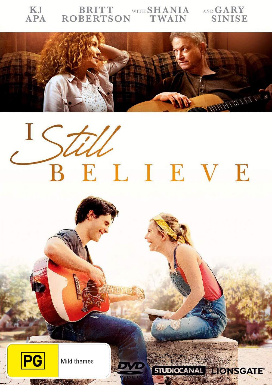 I Still Believe | K.J. Apa, Britt Robertson, Shania Twain, Gary Sinise | NON-USA Format | Region 4 Import - Australia