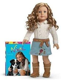 American Girl Doll of the Year Nicki and Paperback Book