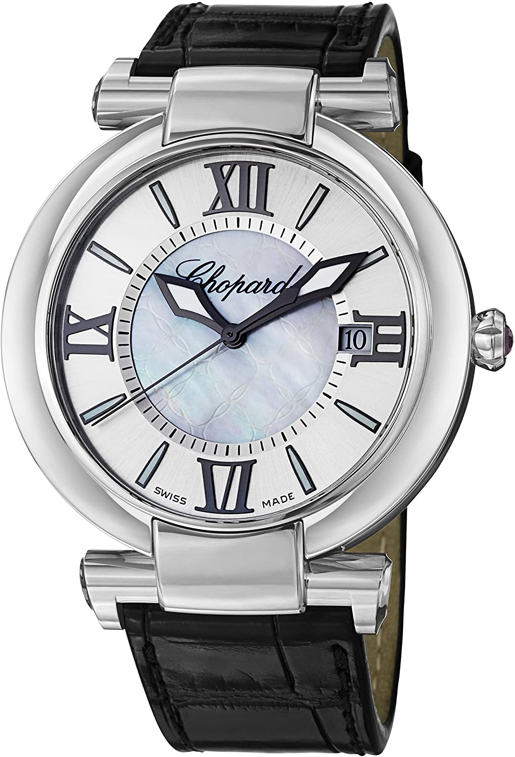 Chopard Imperiale Large Mother of Pearl Dial Automatic Swiss Made Watch 388531-3009