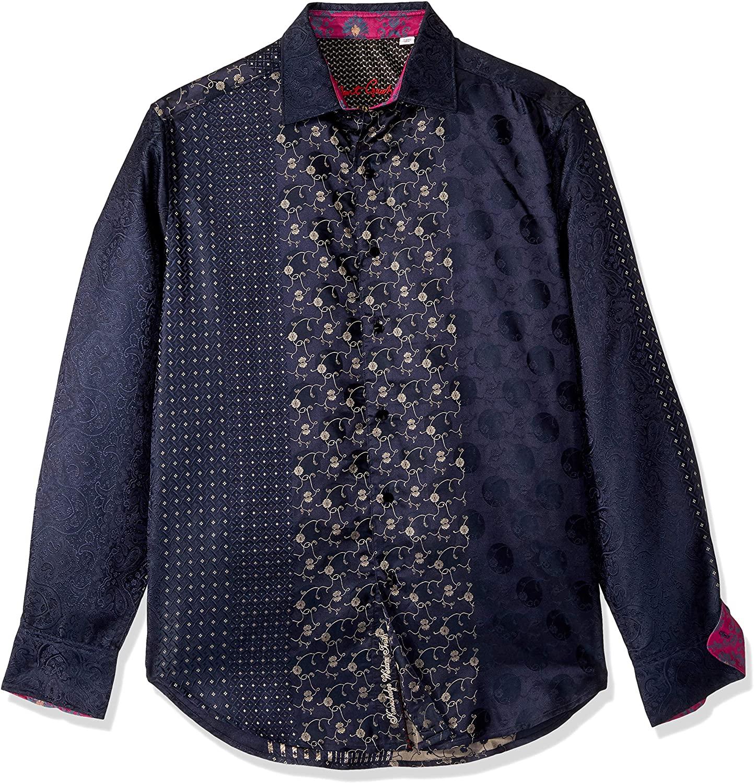Robert Graham Men's Gj Fusion LMT Ed L/S Woven Shirt