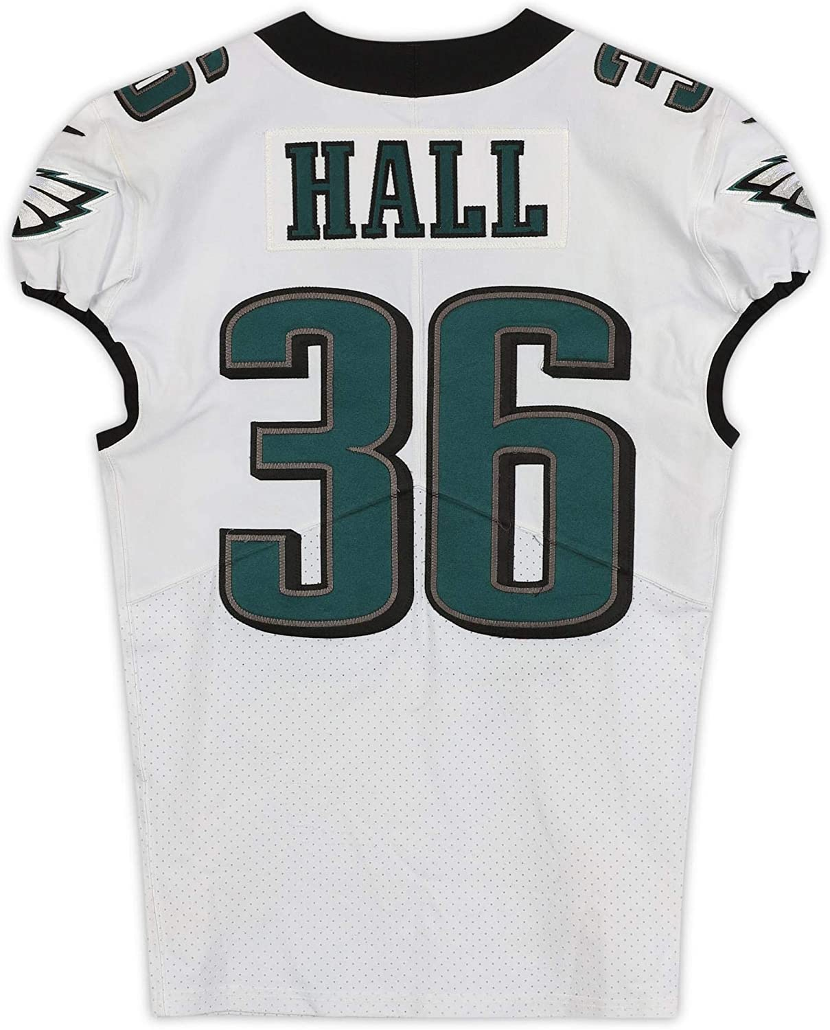 Deiondre Hall Philadelphia Eagles Game-Used #36 White Jersey from the 2019-20 NFL Season - Size 40+4 - Unsigned NFL Game Used Jerseys