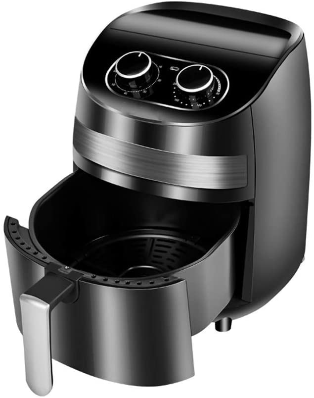 Wghz Air Fryer Household Oil-Free Electric Fryer Automatic Smart Oven 1400W 3.6L Timer Function Adjustable Temperature Oil-Free & Low-Fat Healthy Cooking Fry Chips Chicken Tasty Nutritious Meals
