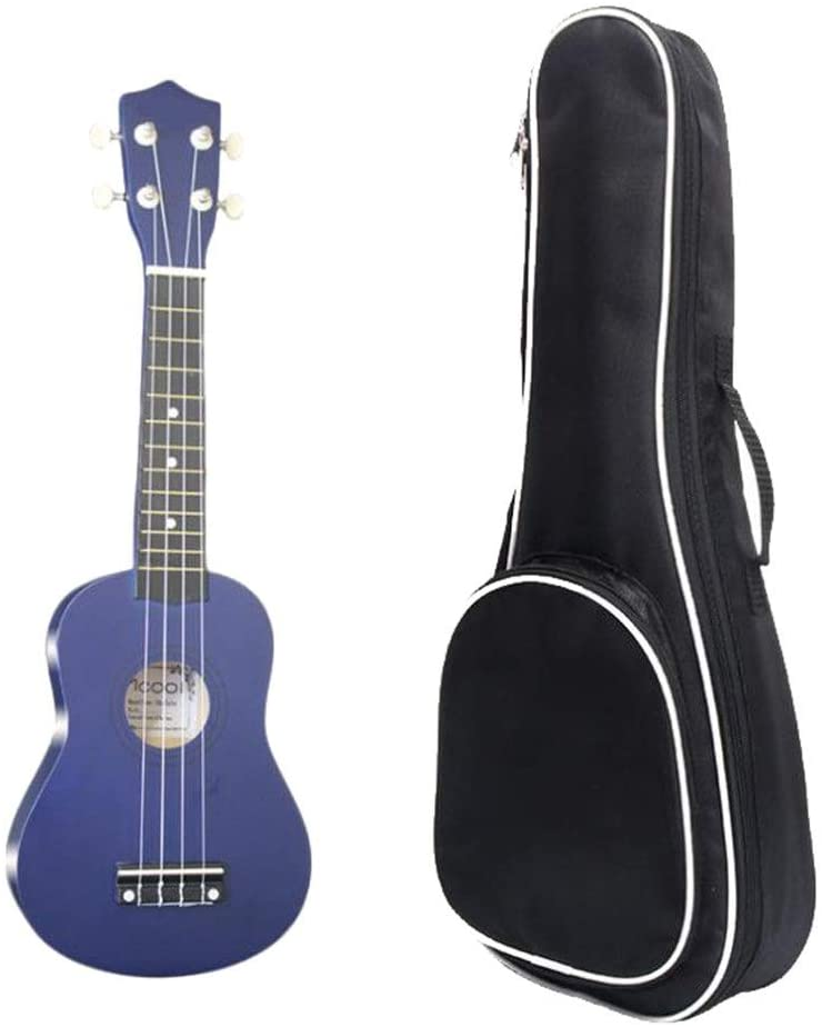 Vintage Ukelele Traditional Soprano Ukulele 21 Inches Basswood Uke Hawaii Kids Guitar with Gig Bag Picks and One Extra String for Kids Students Beginners Gift for Adults Kids