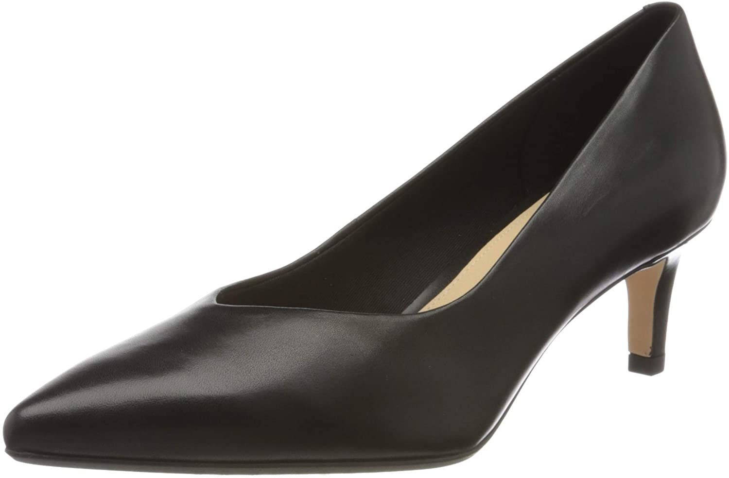 Clarks Laina55 Court Court Shoes Women Black Court Shoes Shoes