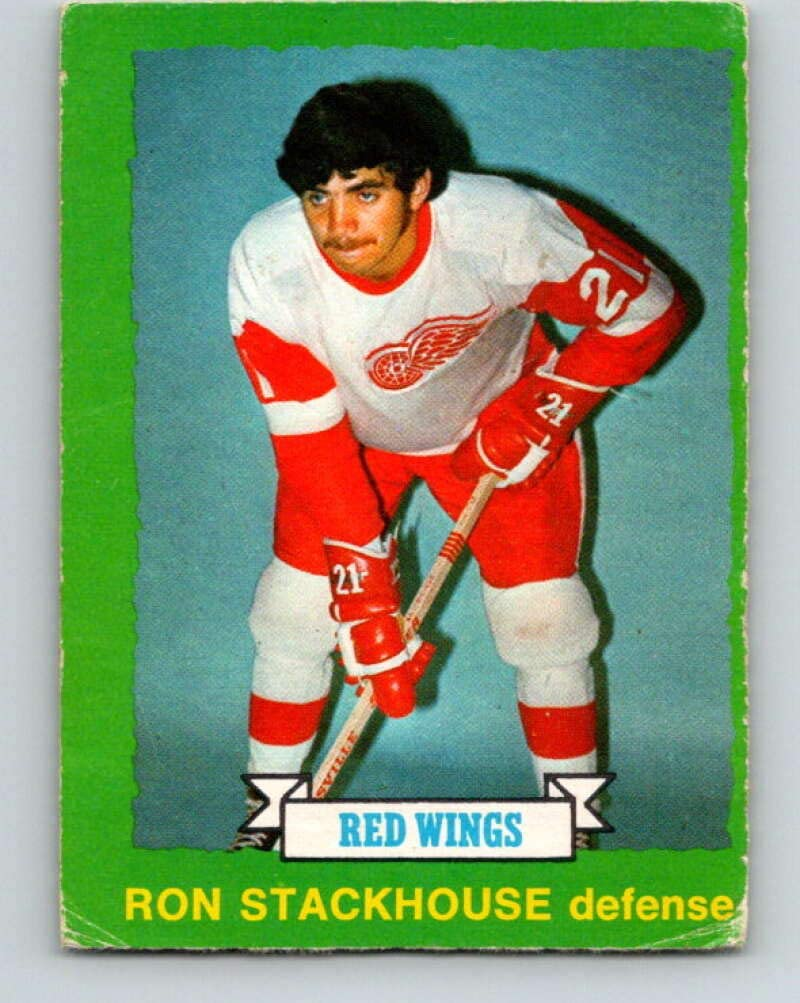 V8604-1973-74 O-Pee-Chee #236 Ron Stackhouse Detroit Red Wings