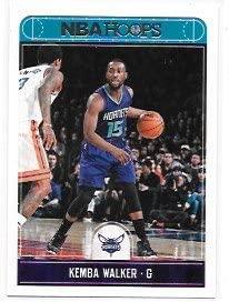 Kemba Walker 2017-18 NBA Hoops Charlotte Hornets Card #73