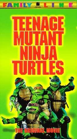Teenage Mutant Ninja Turtles - The Original Movie [VHS]