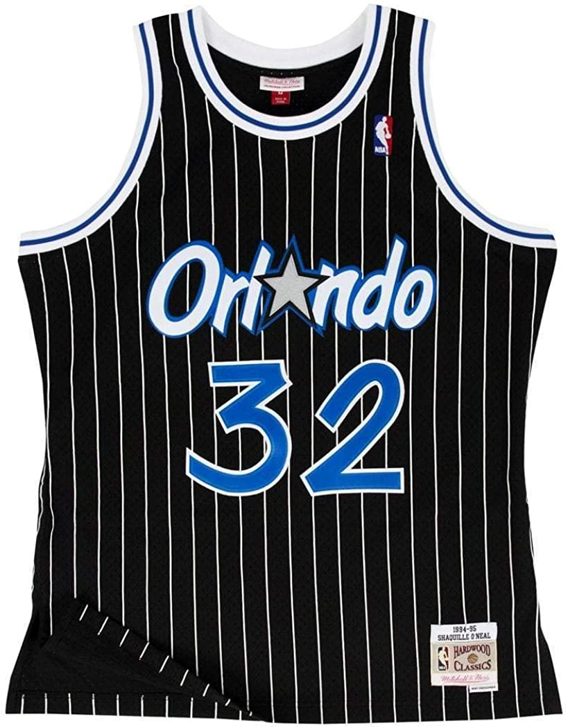 Mitchell & Ness Orlando Magic Shaquille ONeal Black Swingman Jersey