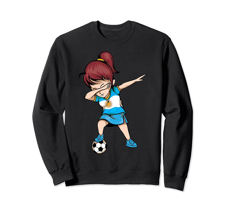 Dabbing Soccer Argentina Jersey - Argentinian Football Sweatshirt