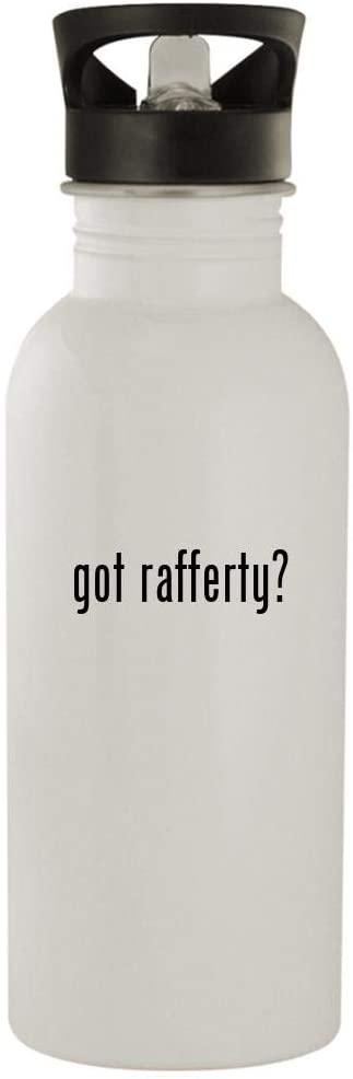 got rafferty? - 20oz Stainless Steel Outdoor Water Bottle, White