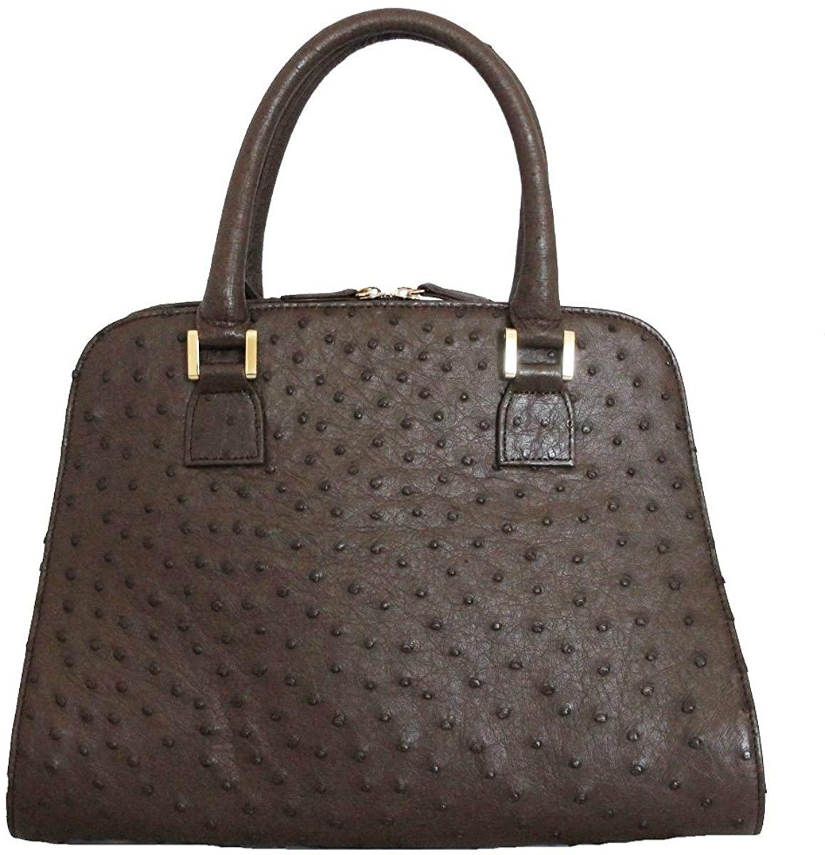 FIORI EO0030 Genuine Ostrich Leather Handbag.
