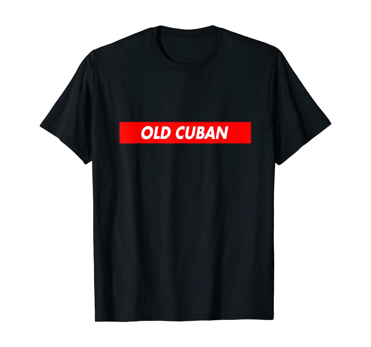 Old Cuban Red Box Logo Cocktail Lovers Funny T-Shirt
