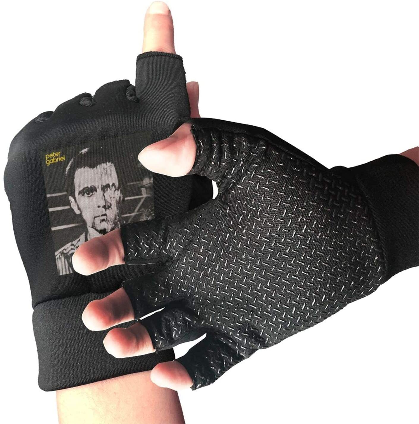 Peter Gabriel Half Finger Outdoor Non-Slip Shock-Absorbing Gloves Fit for Cycling Airsoft Paintball Motorcycle Hiking