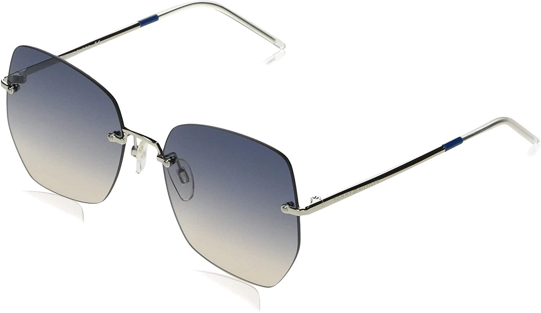 TOMMY HILFIGER Sunglasses TH 1667/S 0KUF PALLADIUM AZUR Women 57x18x140