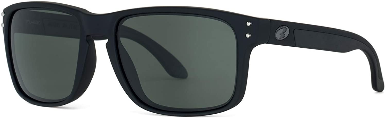 Bnus italy made classic sunglasses corning real glass lens w. polarized option